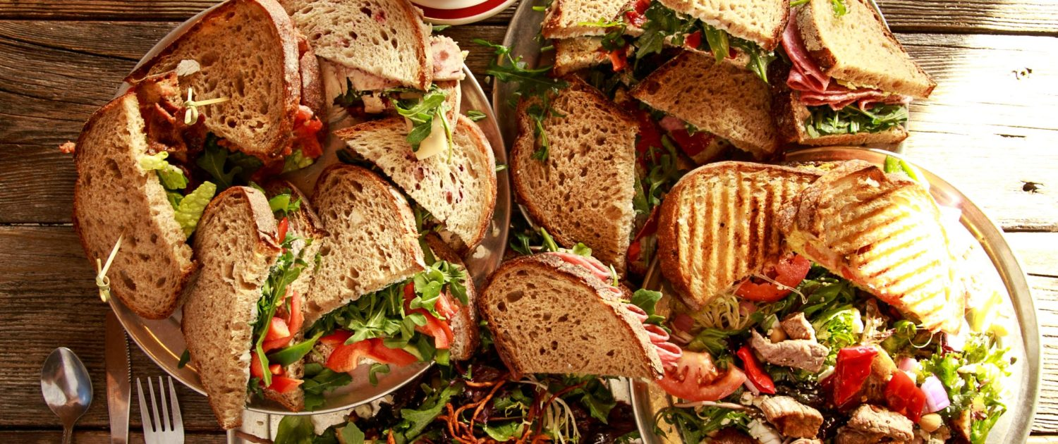 Sandwich Lunch Salad Catering